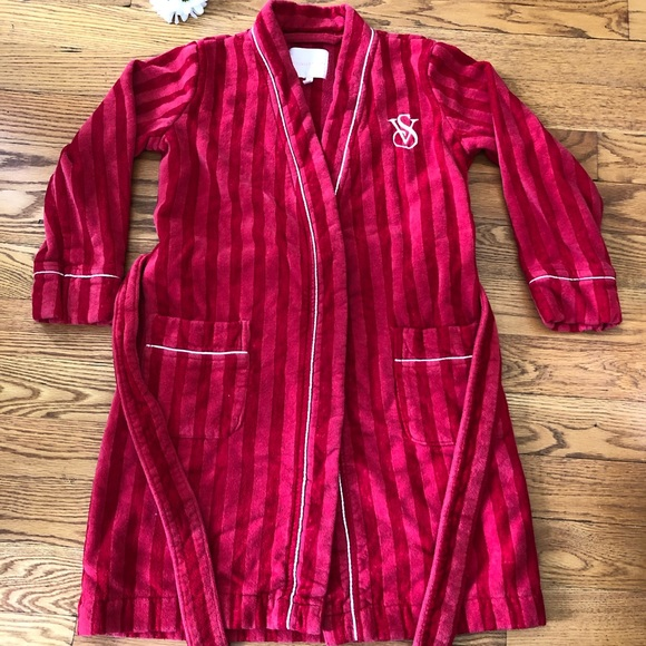 Victoria's Secret Other - Victoria Secret Red Short Bathrobe